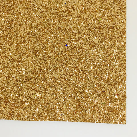 Gold Tinsel Specialty Glitter Fabric Sheet