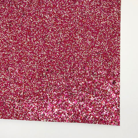 Love Chunky Glitter Fabric Sheet