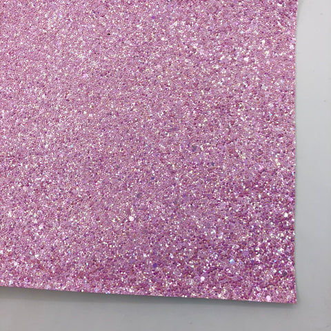 Orchid Shimmer Premium Glitter Fabric Sheet