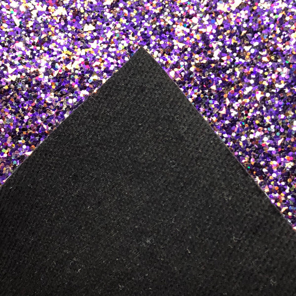 Ultraviolet Specialty Glitter Fabric Sheet