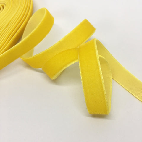 Sunshine Velvet Ribbon - 1/2 inch