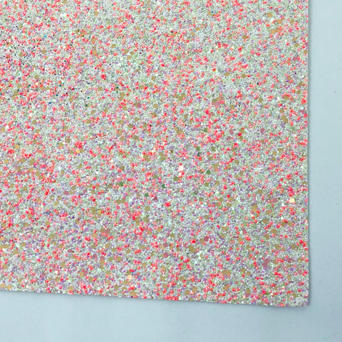 Citrus Kiss Specialty Glitter Fabric Sheet
