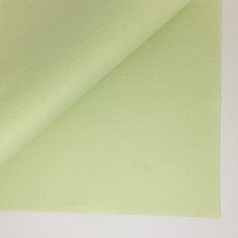 Honeydew 100% Wool Felt - 8x12""