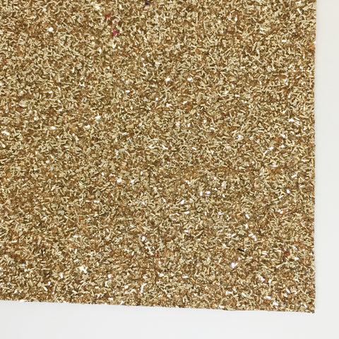 Pale Gold Tinsel Specialty Glitter Fabric Sheet