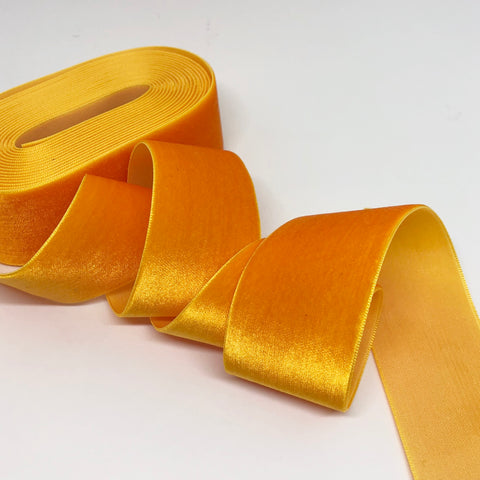Sunburst Velvet Ribbon - 1 and a Half Inch