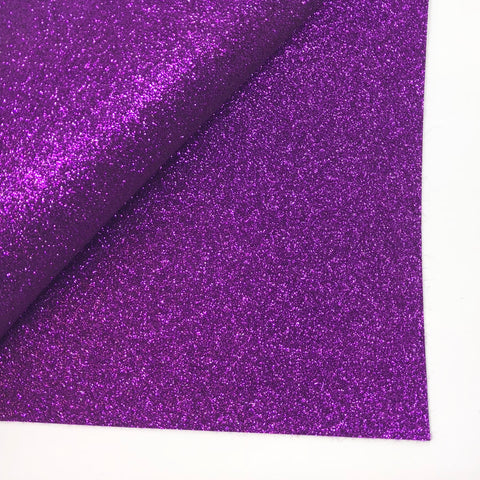 Purple Berry Glitter 100% Wool Felt - 9.5x12""