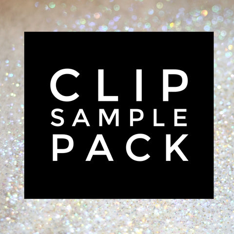 Clip Sample Pack - 21 Clips Total