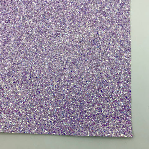 Lilac Shimmer Premium Glitter Fabric Sheet