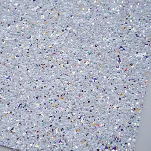 Milky Way Specialty Glitter Fabric Sheet