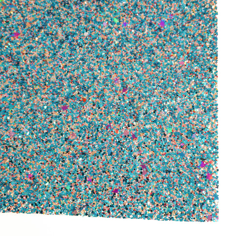 Pool Party Premium Glitter Fabric Sheet