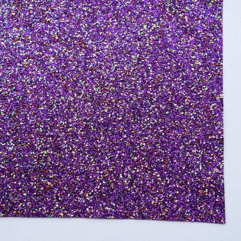 Maleficent Sprinkle Specialty Glitter Fabric Sheet
