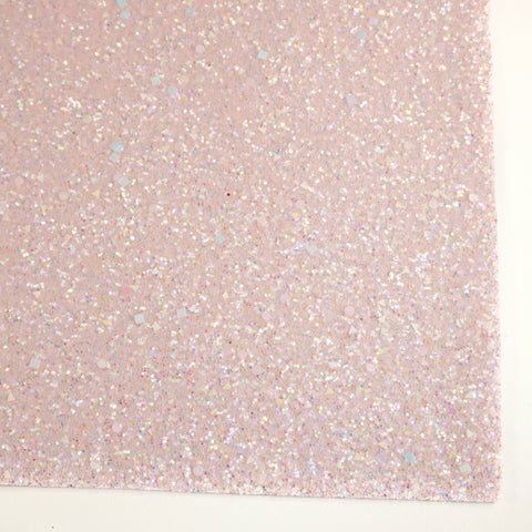 Light Pink Celebration Specialty Glitter Fabric Sheet