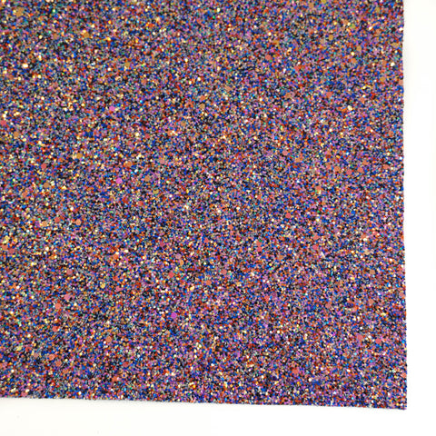 Deep Blue Sea Specialty Glitter Fabric Sheet