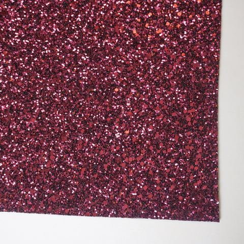 Port Wine Specialty Glitter Fabric Sheet