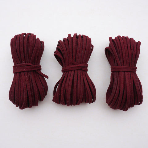 Port Wine Suede Cord