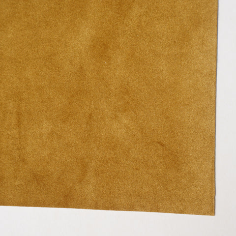 Mustard Velour Fabric Sheet