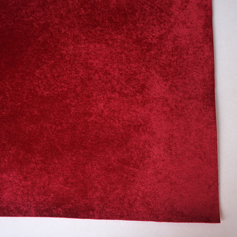 Red Velour Fabric Sheet