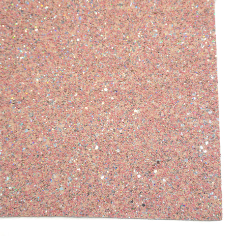 Pink Sand Specialty Glitter Fabric Sheet