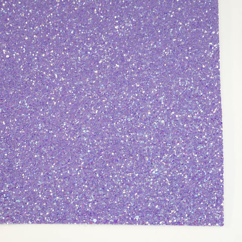 Periwinkle Shimmer Premium Glitter Fabric Sheet