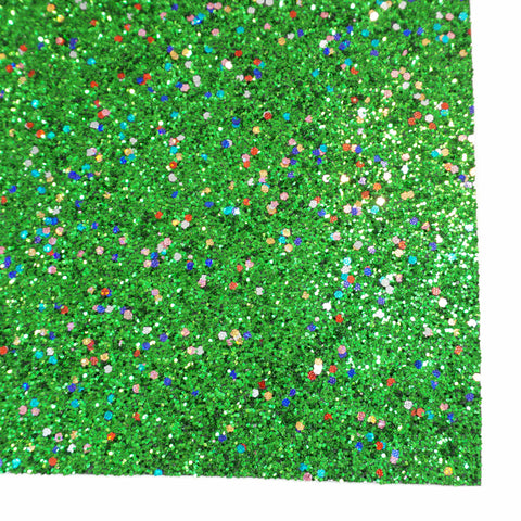 Holiday Lights Specialty Glitter Fabric Sheet