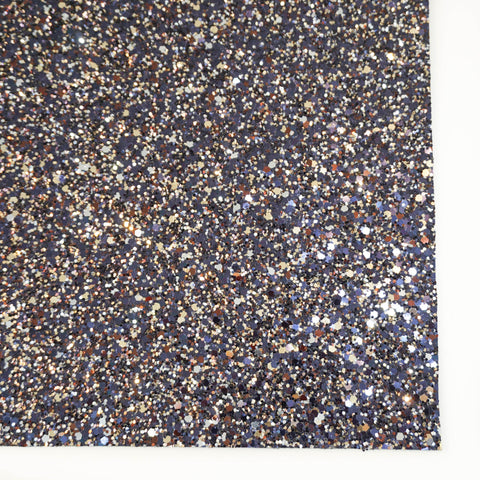 Blueberry Pie Specialty Glitter Fabric Sheet