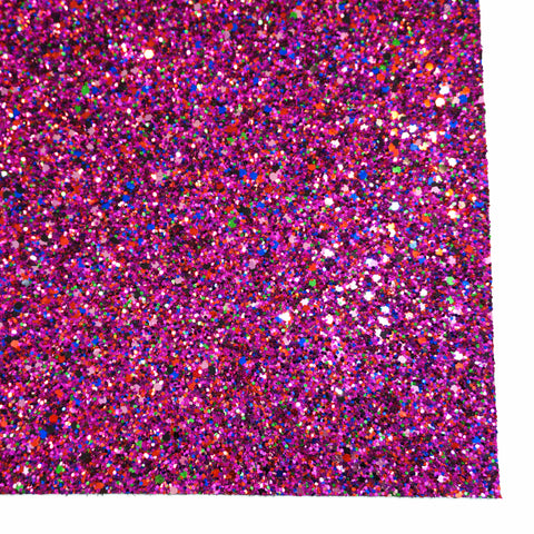 Mixed Berry Specialty Glitter Fabric Sheet