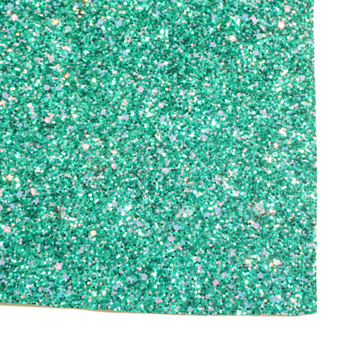 Aquarius Chunky Glitter Fabric Sheet
