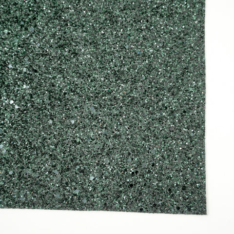 Evergreen Glass Premium Glitter Fabric Sheet