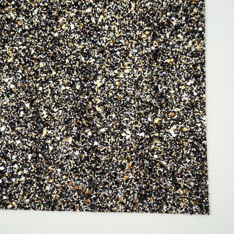 Black Tie Affair Specialty Glitter Fabric Sheet