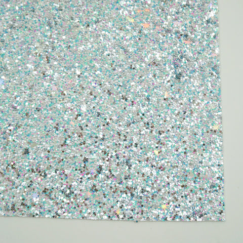 Rainbow Fish Premium Glitter Fabric Sheet