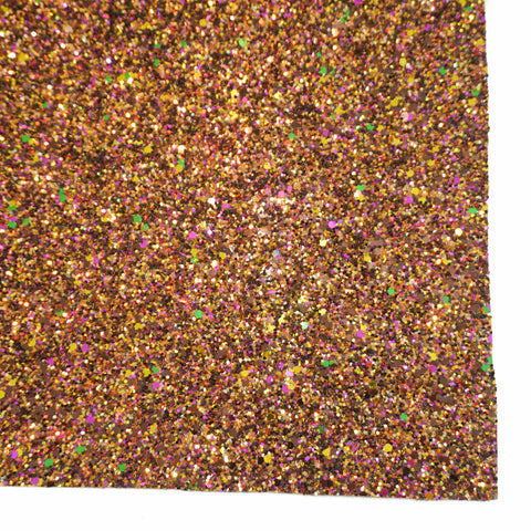 Chocolate Sundae Specialty Glitter Fabric Sheet