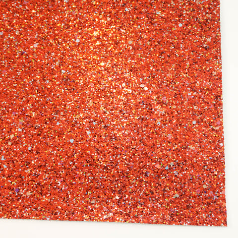 Rudolph's Nose Specialty Glitter Fabric Sheet