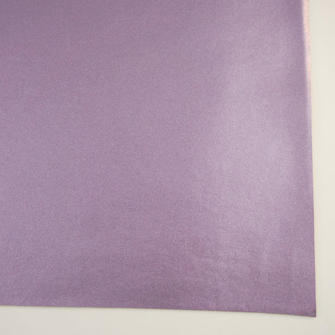 Lavender Metallic Smooth Faux Leather