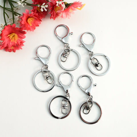 Silver Key Chain Hardware