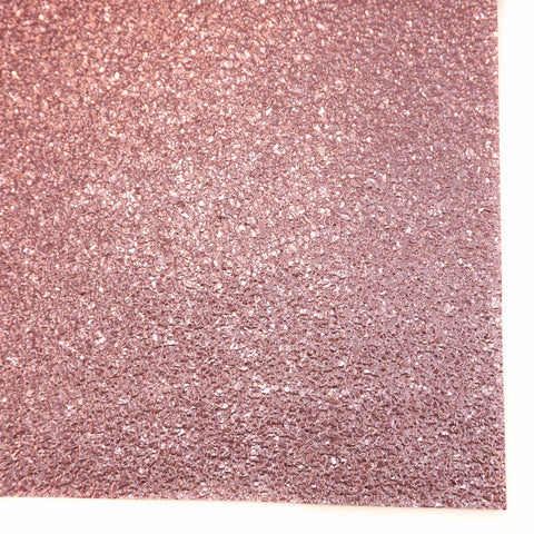 Pink Druzy Faux Leather