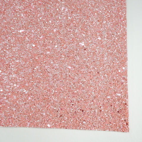 Pink Sherbet Specialty Glitter Fabric Sheet