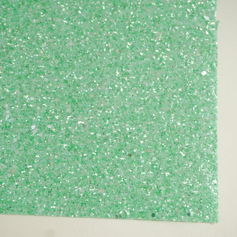 Spearmint Sherbet Specialty Glitter Fabric Sheet