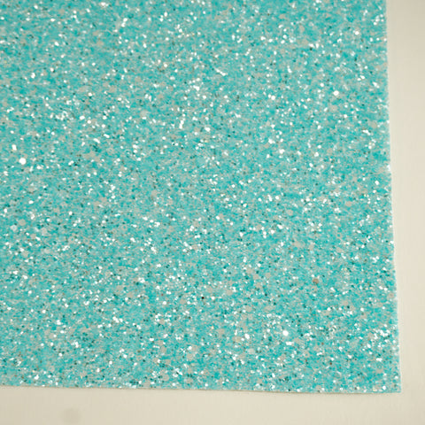 Baby Blue Sherbet Specialty Glitter Fabric Sheet
