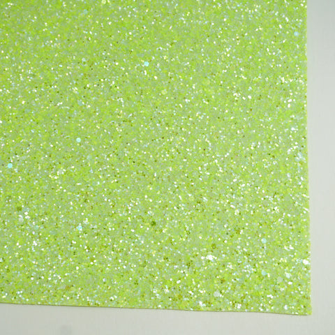 Tennis Ball Sherbet Specialty Glitter Fabric Sheet