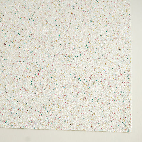 Bunny Tail Specialty Glitter Fabric Sheet