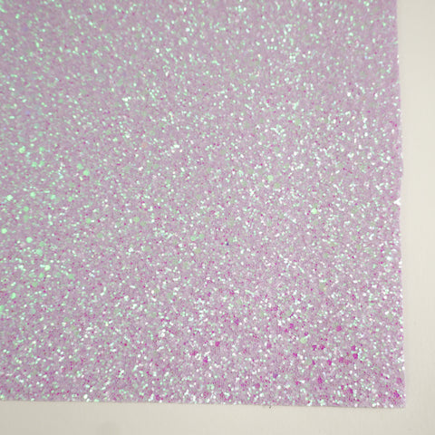 Lilac Frost Sherbet Specialty Glitter Fabric Sheet