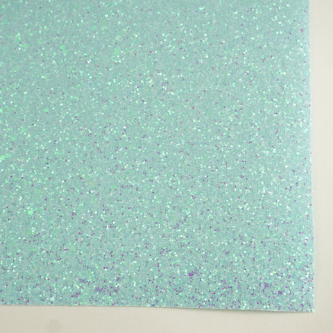 Arctic Frost Sherbet Specialty Glitter Fabric Sheet