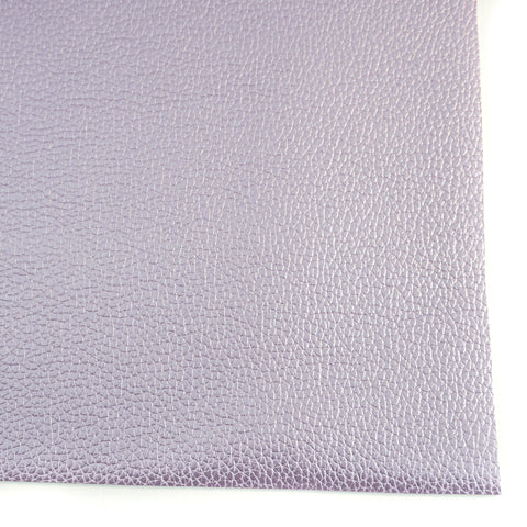 Lilac Metallic Textured Faux Leather