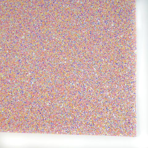 Ice Cream Paint Job Specialty Glitter Fabric Sheet