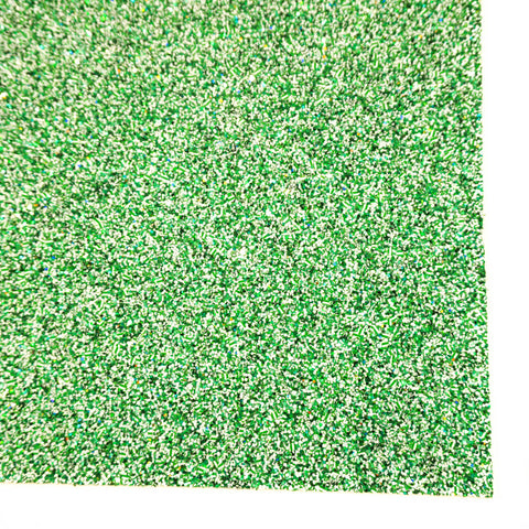 Spearmint Specialty Glitter Fabric Sheet