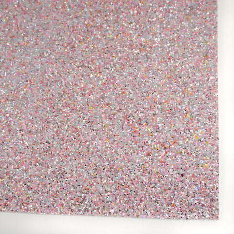 Candy Floss Premium Glitter Fabric Sheet