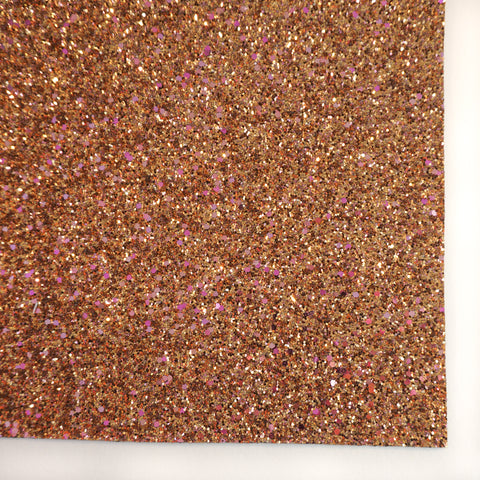 Copper Canyon Specialty Glitter Fabric Sheet