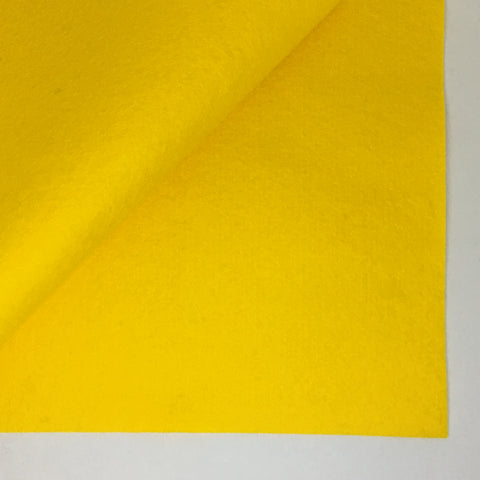 Goldenrod 100% Wool Felt - 8x12""