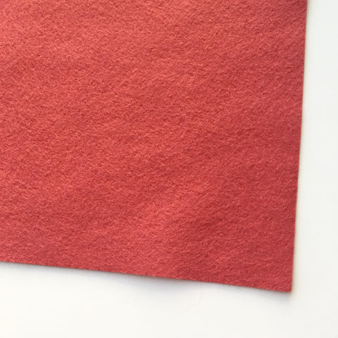 Strawberry Dream Wool Blend Felt