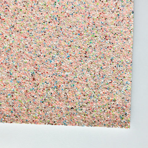 Life's A Beach Premium Glitter Fabric Sheet